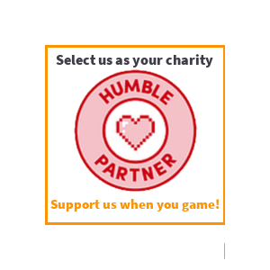 Humble Partner. Support us when you game! We receive a percentage of sales and you can select us as your charity. Humble Bundle.